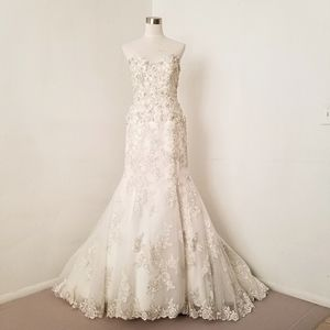 MAGGIE SOTTERO MERMAID EMBROIDERED HEART B…